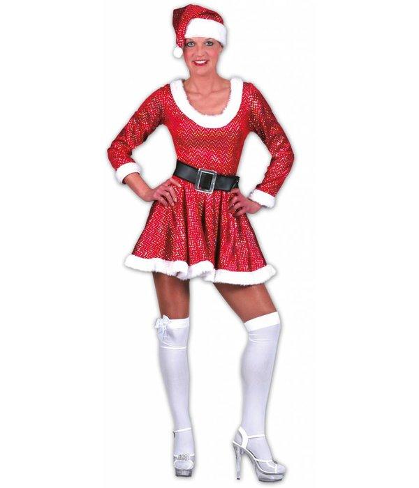 Glinsterend Kerstoutfit