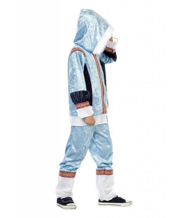 Eskimo pak kind blauw