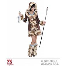 Luxe Eskimo Meisje Aikaa Kostuum