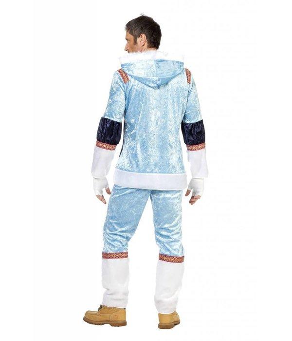 Eskimo pak man blauw