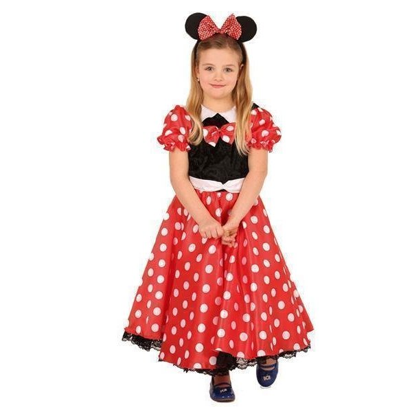 Kostuum Minnie Mouse kind