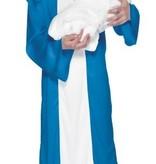 Heilige Maria maagd kostuum kind