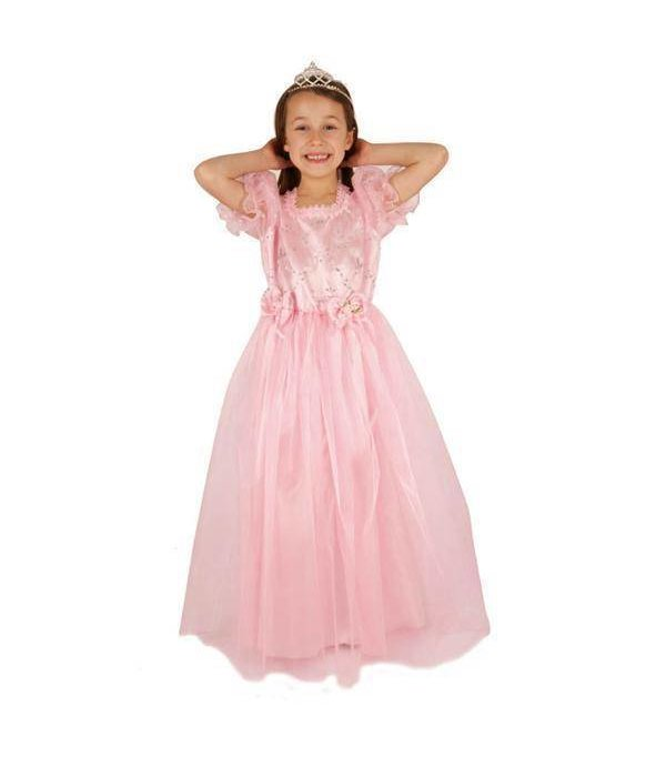 Prinses jurk roze Jasmine