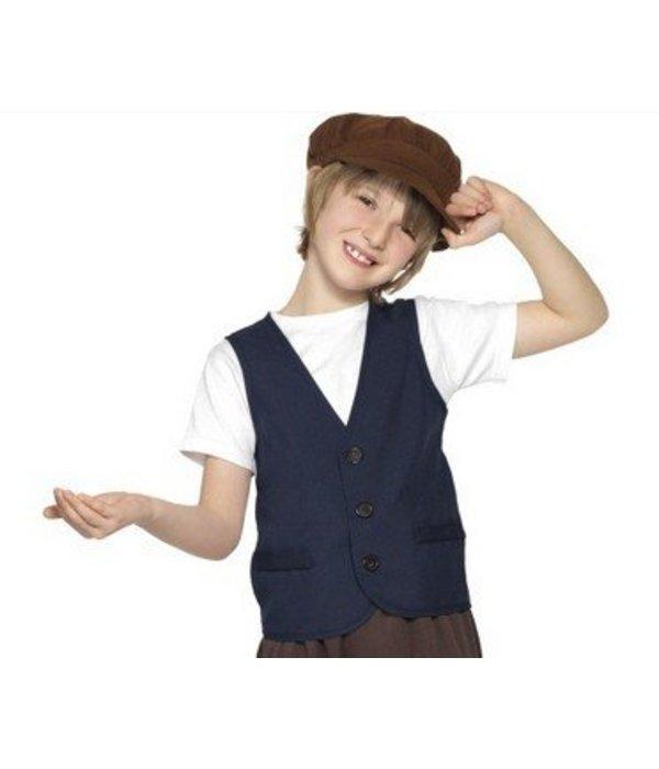 Victoriaanse verkleedset kind