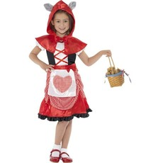 Roodkapje jurk kind
