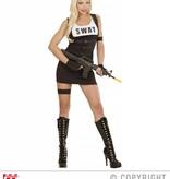 SWAT kostuum dame