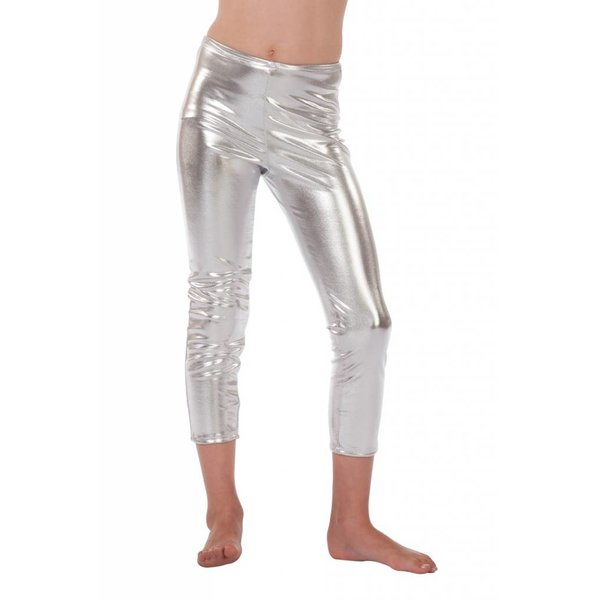 Legging kind zilver