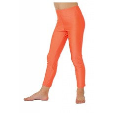 Legging kind neon oranje