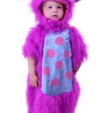 Baby Monster pakje paars
