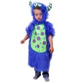 Baby Monster pakje blauw