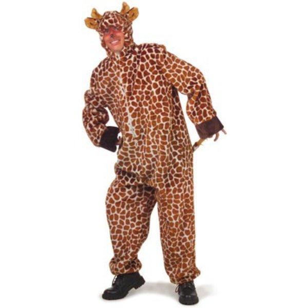 Giraffe pak volwassen pluche