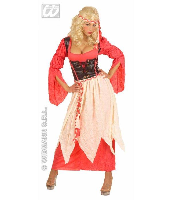 Middeleeuws kamermeisje kostuum