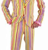Magic Carnavalspak streep pastel