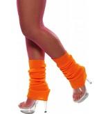 Beenwarmers neon oranje