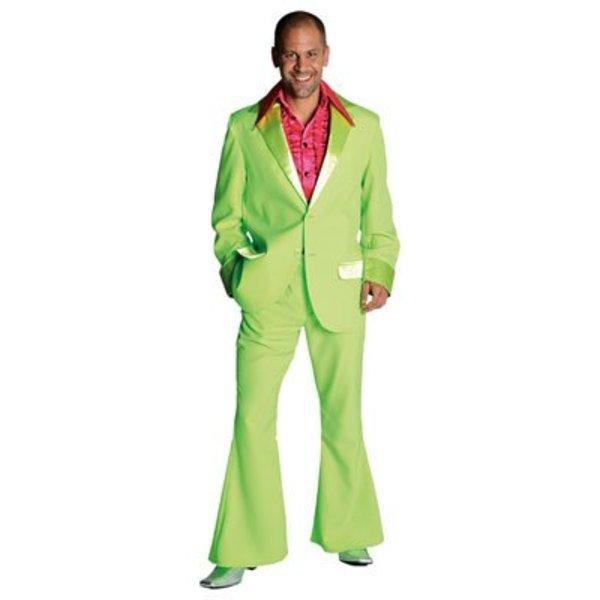 Gala kostuum groen elite