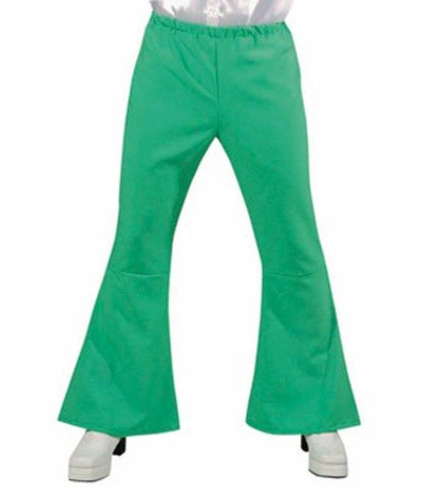 Hippie Disco broek groen man