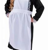 Dienstmeisje kostuum kind