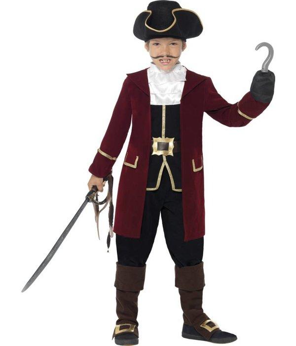 Compleet Piraten kapitein kostuum