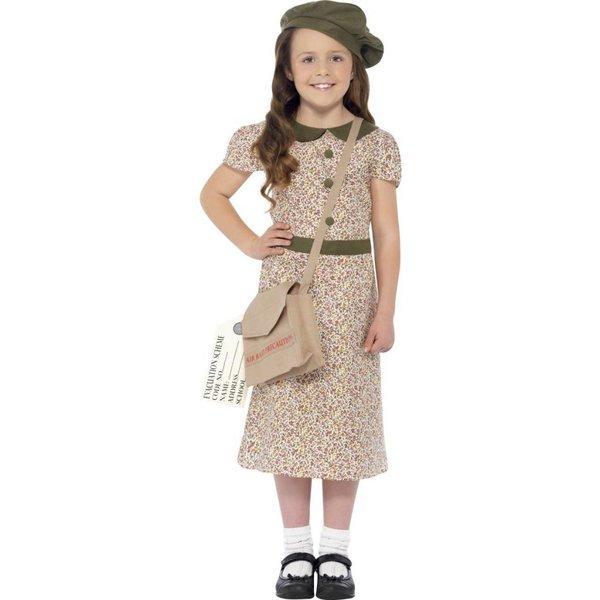 Jaren 40 Oorlogsmeisje kostuum