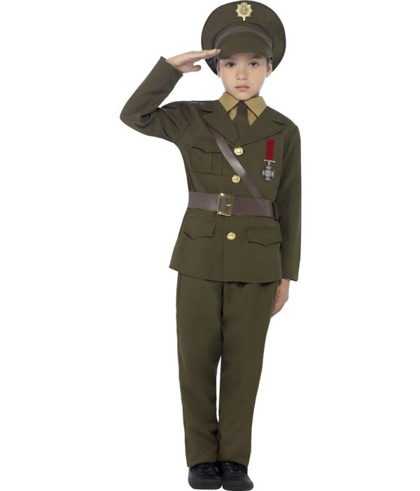 Leger Officier kostuum kind