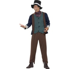 Arme Victoriaanse man kostuum