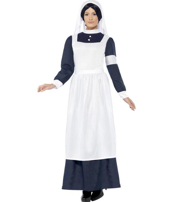 Oorlog verpleegster kostuum
