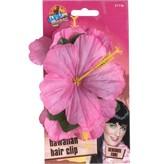 Hawaii haarclip roze