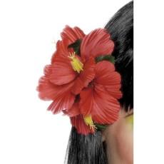 Hawaii haarclip rood