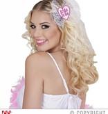 Haarclip Bride to be wit