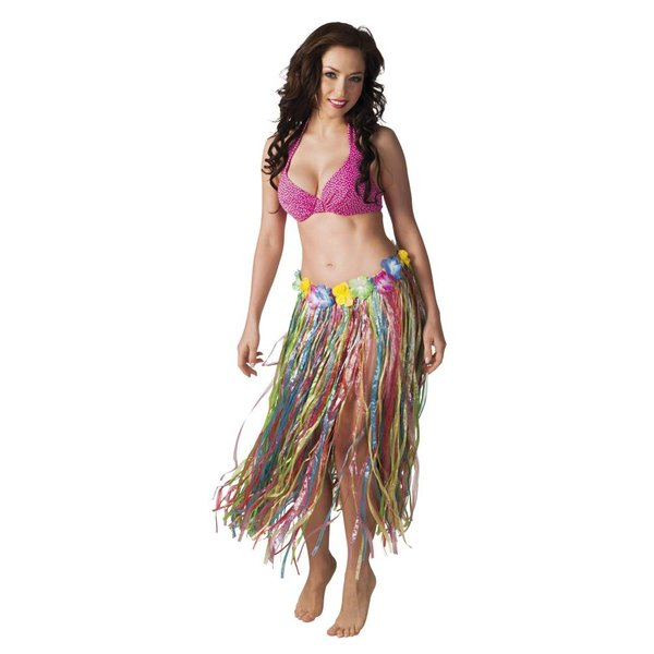 Hawaii rok multikleur 80 cm