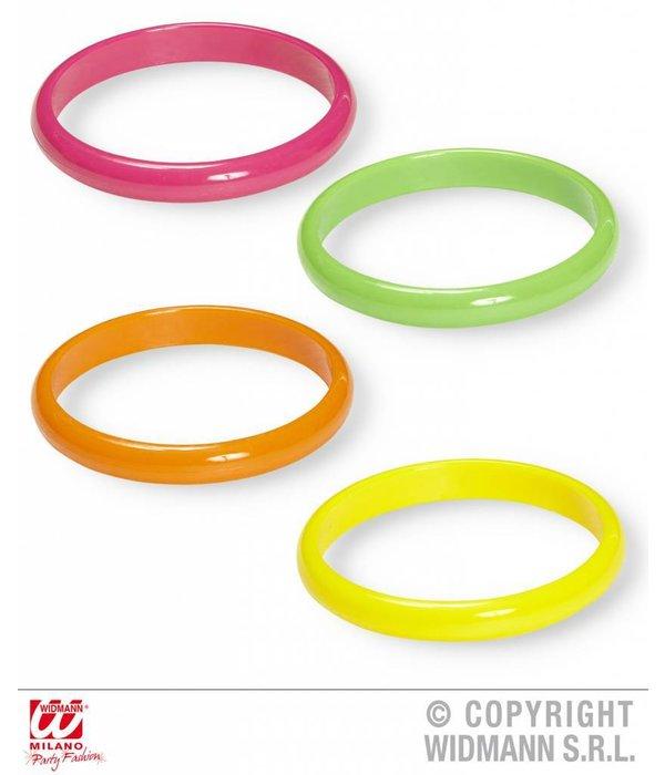 Set van 4 Neon armanden