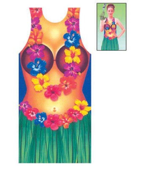 Hawaii Crazy Summer schort vrouw