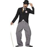 Charley Chaplin jaren 20 kostuum