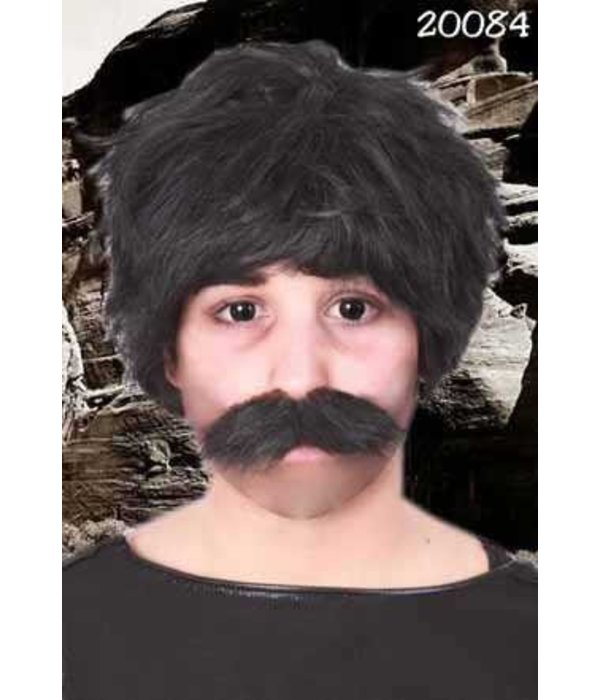 Snor Bob zwart