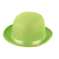 Bolhoed satijn groen