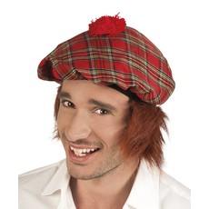 Schotse pet met haar