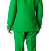 Luxe maatpak heren groen