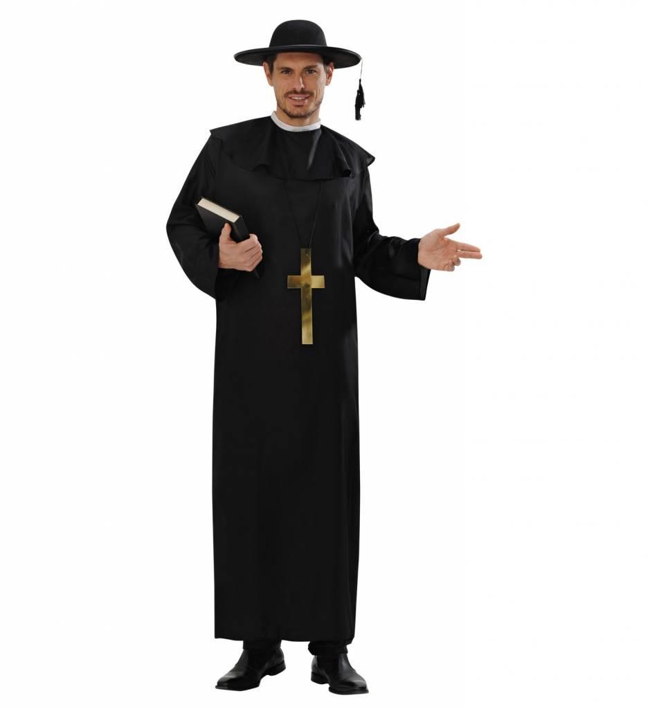 Katholieke priester kostuum man