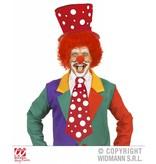 Stropdas Clown rood