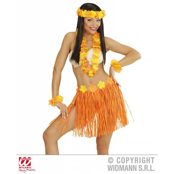Hawaii set oranje
