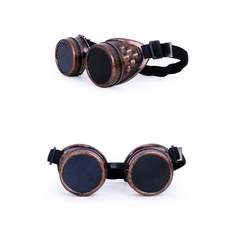 Steampunk bril koperlook