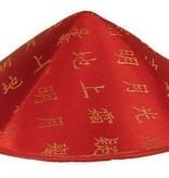 Chinees hoedje rood