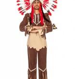 Indiaans kostuum man Chero