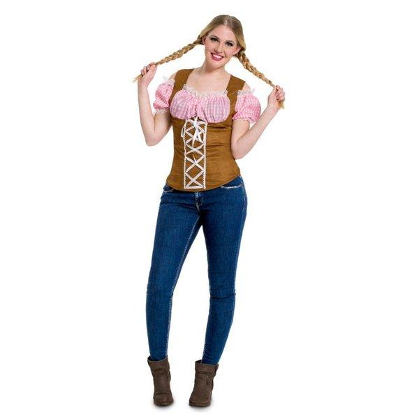 Oktoberfest top roze budget