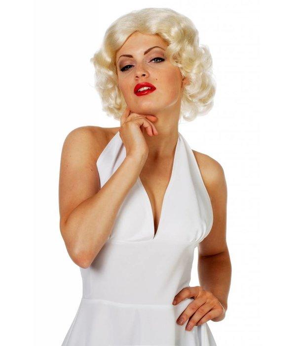 Pruik Marilyn nieuw