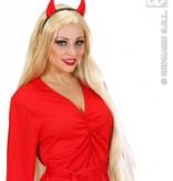 Spiegelende rode duivelshoorn