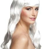 Witte Pruik Lady Gaga