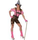Sexy Tiroler Lederhose dame