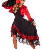 Spaanse verkleedkleding vrouw Carmen