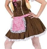 Sexy Tiroler Rosa outfit